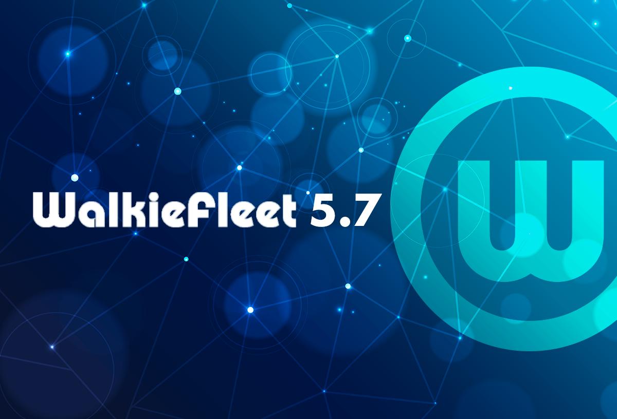 WalkieFleet conta com novas funções